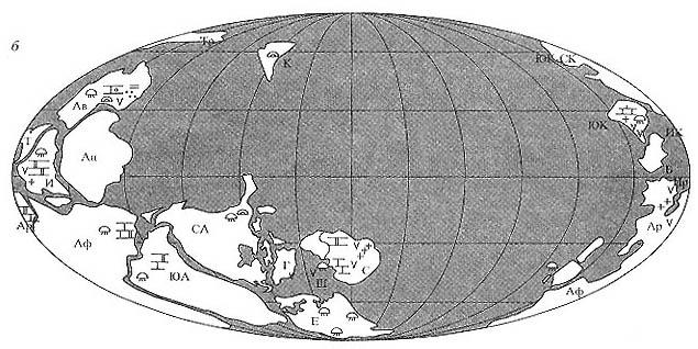 Палеоклиматические схемы